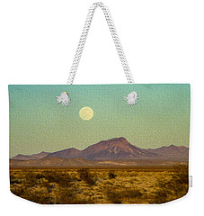 Mohave Desert Moon Weekender Tote Bag