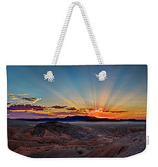 Mohave Sunrise Weekender Tote Bag by Mark Dunton