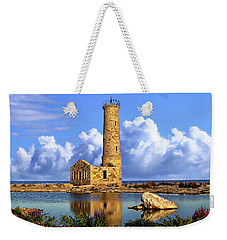 Mohawk Island Lighthouse Weekender Tote Bag