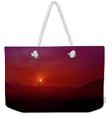Mojave Sunrise Weekender Tote Bag by Mark Dunton