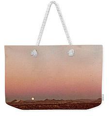 Mojave Sunset Weekender Tote Bag