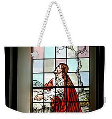 Mokuaikaua Church Stained Glass Window Weekender Tote Bag
