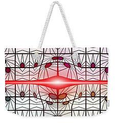 Molecule Flare Weekender Tote Bag