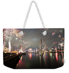 Molecule Men Party Weekender Tote Bag
