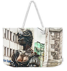 Weekender Tote Bag featuring the photograph Molly Malone by Hanny Heim