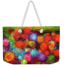 Molly's Floral Garden Weekender Tote Bag