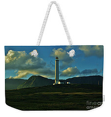 Molokai Lighthouse Weekender Tote Bag by Craig Wood