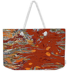 Molten Earth Weekender Tote Bag