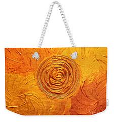 Molten Spiral Weekender Tote Bag by Rachel Hannah
