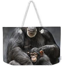 Mom And Baby Weekender Tote Bag by Jamie Pham