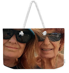 Mom Chris And Daughter Colette May 2017 Weekender Tote Bag