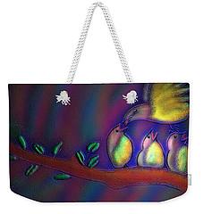 Weekender Tote Bag featuring the digital art Mom by Latha Gokuldas Panicker