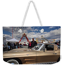 Mom N Vette Weekender Tote Bag by Robert McCubbin