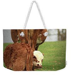 Moma Said Weekender Tote Bag by Kim Henderson