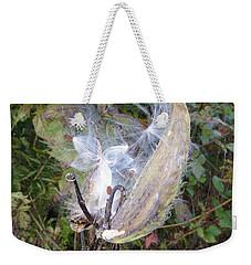 Moment In The Life Of A Milkweed Weekender Tote Bag by Joel Deutsch