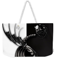 Momentary Impression Of Undefined Abstraction Weekender Tote Bag