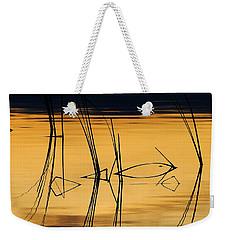Momentary Tranquil Reflection Weekender Tote Bag