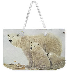 Mommy Bear Weekender Tote Bag by Annie Poitras