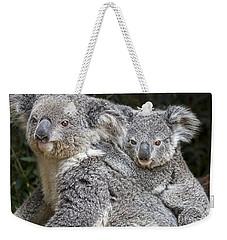 Mommy Hugs Weekender Tote Bag by Jamie Pham