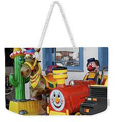 Mommy Let's Ride Weekender Tote Bag