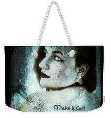 Weekender Tote Bag featuring the digital art Mona 1 by Mark Baranowski