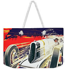 Monaco Grand Prix 1930 Weekender Tote Bag by Taylan Apukovska
