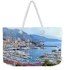 Monaco Panoramic Weekender Tote Bag