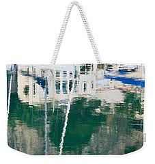 Monaco Reflection Weekender Tote Bag by Keith Armstrong