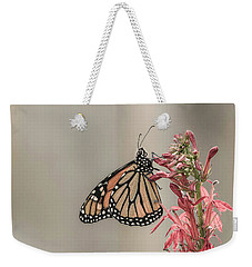 Monarch And Cardinal Flower 2016-2 Weekender Tote Bag