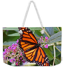 Monarch Butterfly 2 Weekender Tote Bag