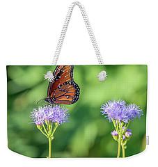 Monarch Butterfly 7476-101017-2cr Weekender Tote Bag