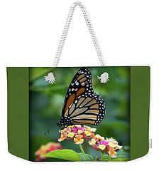Monarch Butterfly Art II Weekender Tote Bag