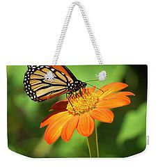 Monarch Butterfly II Vertical Weekender Tote Bag
