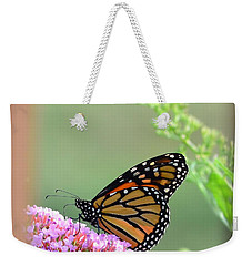 Monarch Butterfly Weekender Tote Bag by Kathy Eickenberg