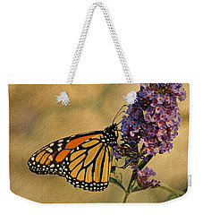 Monarch Butterfly Weekender Tote Bag by Sandy Keeton