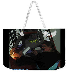 Monarch With Robot And Venus And Mars  Weekender Tote Bag