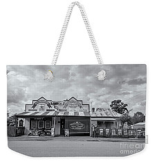 Weekender Tote Bag featuring the photograph Monegeetta General Store by Linda Lees