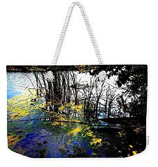 Monet Ice Age Pond Weekender Tote Bag