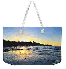 Monet Sunset At La Jolla Shores Weekender Tote Bag
