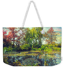 Monet's Afternoon Weekender Tote Bag