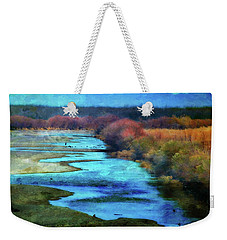 Monets Rio Las Cruces New Mexico Weekender Tote Bag by Barbara Chichester