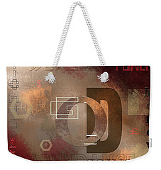 Money Gold Abundance Weekender Tote Bag