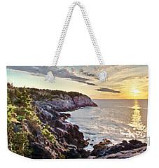 Monhegan East Shore Weekender Tote Bag by Tom Cameron