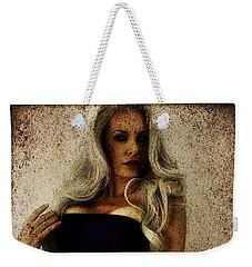 Weekender Tote Bag featuring the digital art Monique 2 by Mark Baranowski