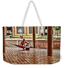 Monk Nap Time  Weekender Tote Bag