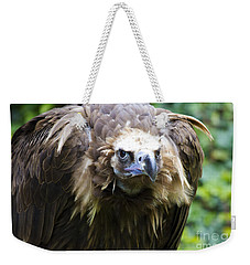 Monk Vulture 3 Weekender Tote Bag by Heiko Koehrer-Wagner