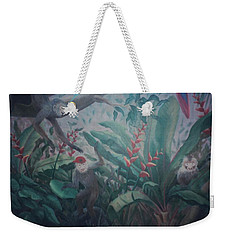 Monkees In The Jungle Weekender Tote Bag