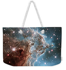 Weekender Tote Bag featuring the photograph Monkey Head Nebula by Marco Oliveira
