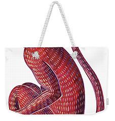 Monkey Weekender Tote Bag by Jane Tattersfield