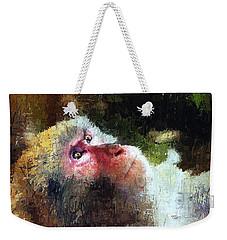 Monkey Wisdom Weekender Tote Bag